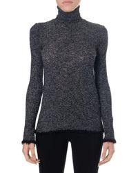 Céline - Long Sleeve Turtleneck Pullover - Lyst