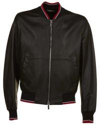 Dior Homme - Hardior Leather Bomber Jacket - Lyst