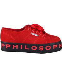 Philosophy Di Lorenzo Serafini - Superga X Philosophy Platform Sneakers - Lyst