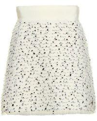 Moncler - Speckled Mini Skirt - Lyst