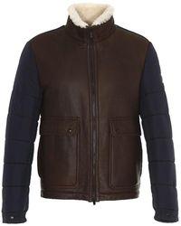 Tod's - Contrast Sleeve Jacket - Lyst