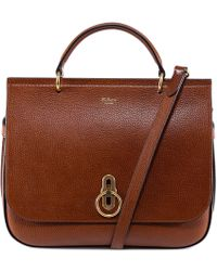 Mulberry - Leather Top Handle Bag - Lyst