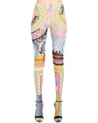 Versace Baroque Printed Tights