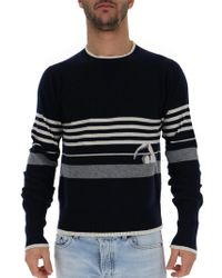 Thom Browne - Striped Pullover - Lyst