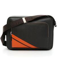e802ec378654 Ferragamo Gamma Messenger Bag in Brown for Men - Lyst