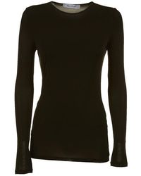 Max Mara - Fitted Long Sleeved Top - Lyst
