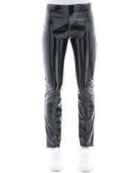 Valentino - Vinyl Skinny Pants - Lyst