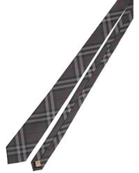 Burberry - Classic Check Tie - Lyst