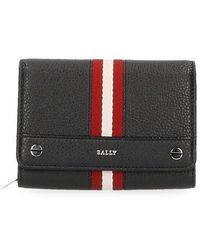 Bally - Ginny Stripes Wallet - Lyst
