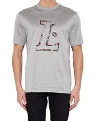 Lanvin - Logo Print T-shirt - Lyst