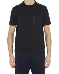 Prada - Contrast Stripe T-shirt - Lyst