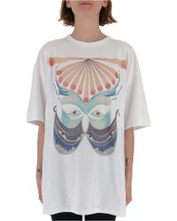 Chloé - Oversized Graphic T-shirt - Lyst