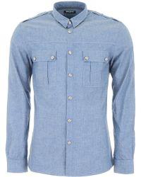 Balmain - Military Shirt - Lyst