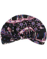 Valentino - Fantasy Print Silk Turban - Lyst