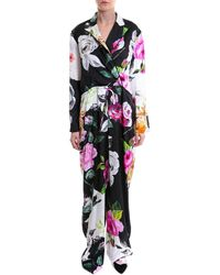 Off-White c/o Virgil Abloh - Floral Print Jumpsuit - Lyst