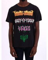 f400792df4f Lyst - Gucci   Print Rainbow  T-shirt in Black for Men
