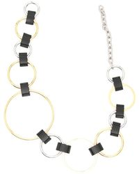Marni - Contrasting Ring Belt - Lyst