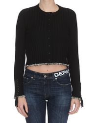 3.1 Phillip Lim - Cropped Ribbed Cardigan - Lyst