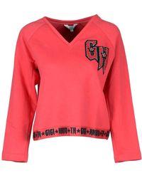 f7398a42f Tommy Hilfiger X Gigi Hadid Colourblock Cardigan With Circle Zip ...