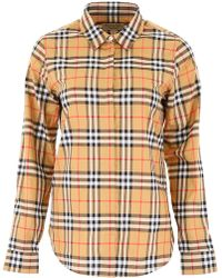 Burberry - House Check Tailored Shirt - Lyst