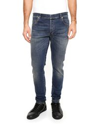 Balmain - Washed Jeans - Lyst