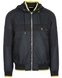Dior Homme - Zip Up Drawstring Jacket - Lyst
