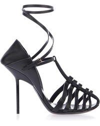 Saint Laurent - Strappy Heeled Sandals - Lyst