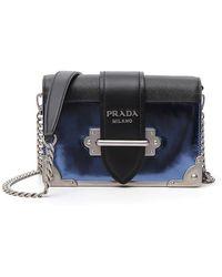 5289f14b909 Prada - Structured Chest Shoulder Bag - Lyst