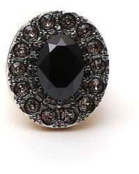 Alexander McQueen - Stone Ring - Lyst