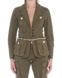 DSquared² - Fitted Military Jacket - Lyst