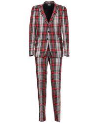 Dries Van Noten - Checked Suit - Lyst