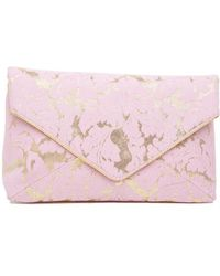 Dries Van Noten - Floral Envelope Clutch Bag - Lyst