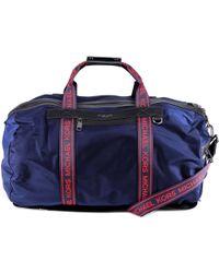e5be024f8221 Lyst - Michael Kors Travel   Duffel Bag in Black for Men