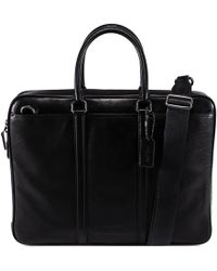 COACH - Metropolitan Slim Brief - Lyst