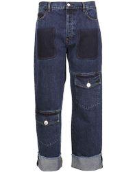 JW Anderson - Straight Denim Jeans - Lyst