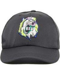 Versus - Road Embroidered Hat - Lyst