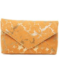 Dries Van Noten - Floral Print Envelope Clutch - Lyst