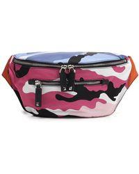 Valentino - Camouflage Belt Bag - Lyst