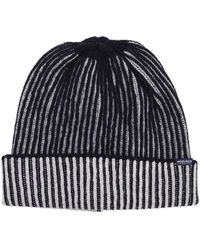 Woolrich - Ribbed Beanie Hat - Lyst