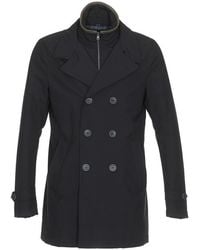 Herno - Double Breasted Coat - Lyst