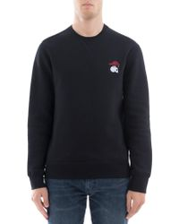 Alexander McQueen - Embroidered Skull And Crow Sweater - Lyst