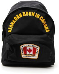 DSquared² - Embroidered Logo Canada Backpack - Lyst