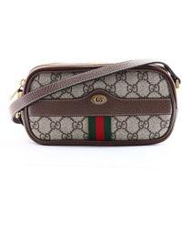 Gucci - Ophidia Mini GG Bag - Lyst