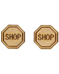 Moschino - Shop Clip Earrings - Lyst