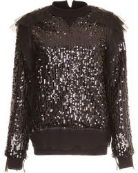 Sacai - Sequinned Jumper - Lyst