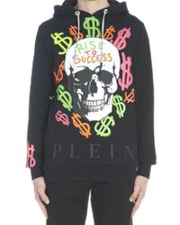 472f0d4610f Philipp Plein Batman Sweater in Black for Men - Lyst