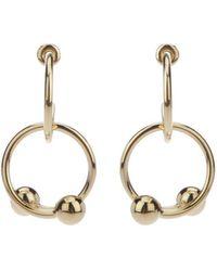 JW Anderson - Hoop Earrings - Lyst