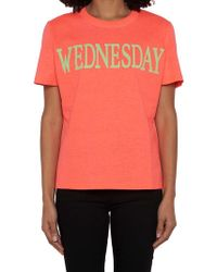 Alberta Ferretti - Rainbow Week Wednesday T-shirt - Lyst