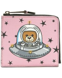 Moschino - Teddy Ufo Wallet - Lyst