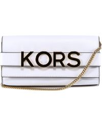 MICHAEL Michael Kors - Embellished Clutch Bag - Lyst